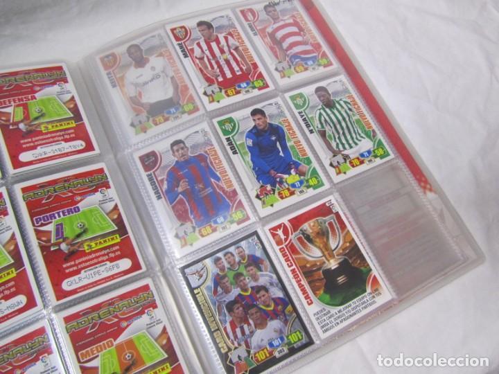 Coleccionismo deportivo: Album archivador Adrenalyn Panini 2013 2014. Del nº 1 al 450 + 24 de numeración mayor del 450. - Foto 6 - 146305538