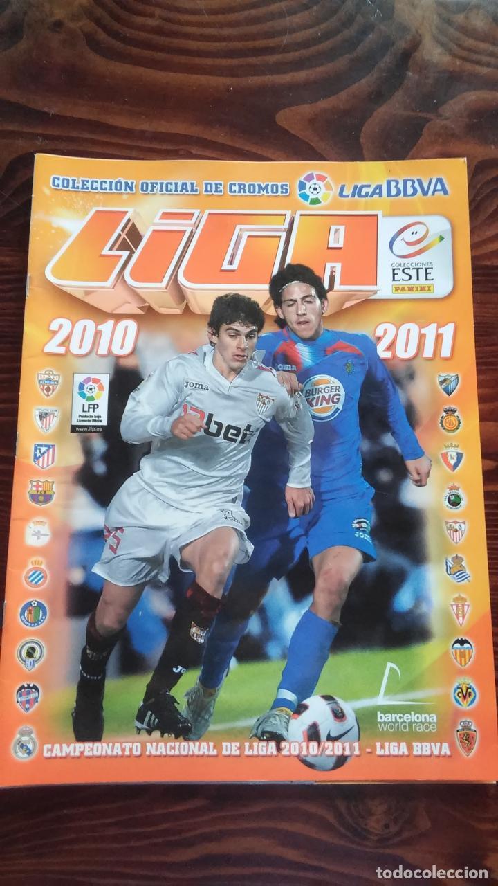 ALBUM CROMOS LIGA 2010 2011 BBVA LFP COLECCIONES ESTE PANINI (Coleccionismo Deportivo - Álbumes y Cromos de Deportes - Álbumes de Fútbol Incompletos)