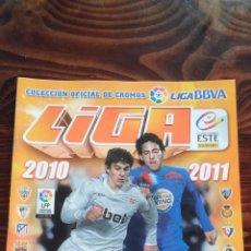 Coleccionismo deportivo: ALBUM CROMOS LIGA 2010 2011 BBVA LFP COLECCIONES ESTE PANINI. Lote 146384746