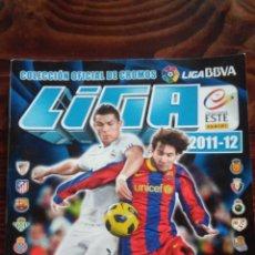 Coleccionismo deportivo: ALBUM CROMOS LIGA 2011 2012 BBVA LFP COLECCIONES ESTE PANINI. Lote 146384866