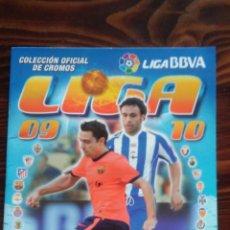 Coleccionismo deportivo: ALBUM CROMOS LIGA 2009 2010 BBVA LFP COLECCIONES ESTE PANINI. Lote 146385794