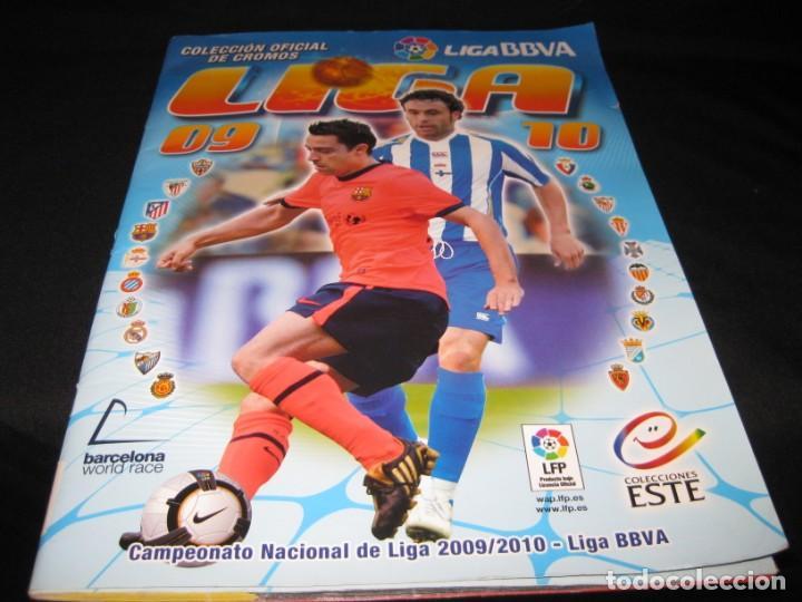 ALBUM CROMOS LA LIGA 2009-2010. 351 CROMOS. (Coleccionismo Deportivo - Álbumes y Cromos de Deportes - Álbumes de Fútbol Incompletos)