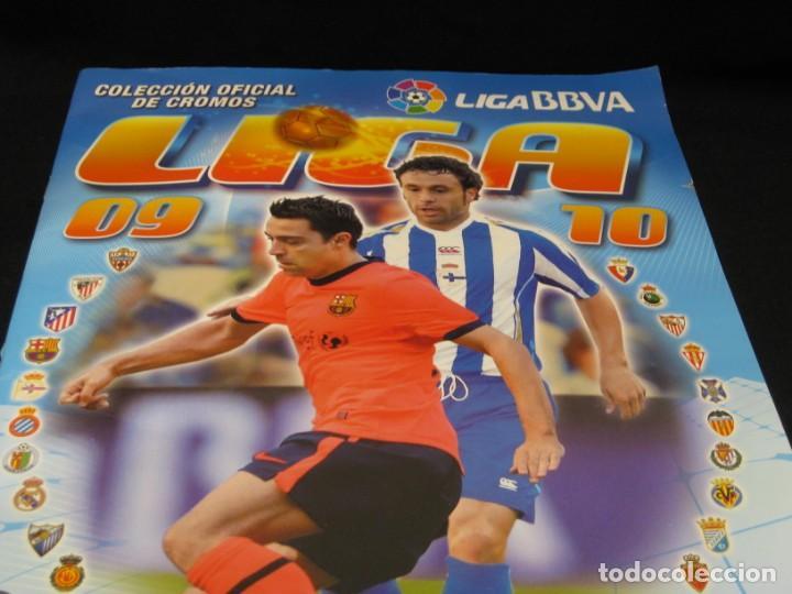 Coleccionismo deportivo: Album cromos La Liga 2009-2010. 351 cromos. - Foto 2 - 146572674