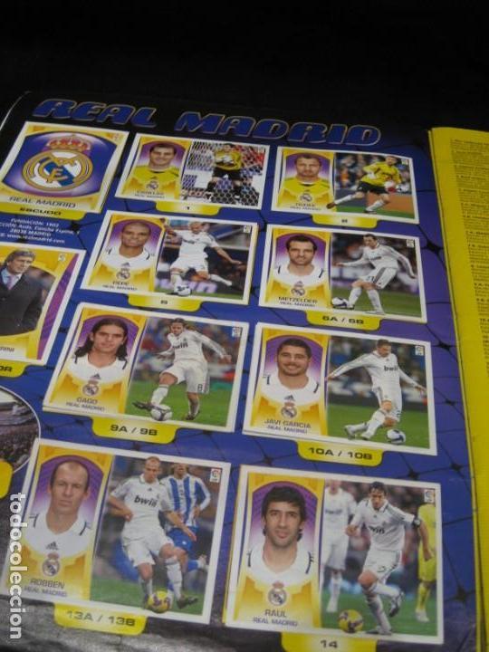 Coleccionismo deportivo: Album cromos La Liga 2009-2010. 351 cromos. - Foto 5 - 146572674