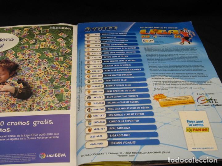Coleccionismo deportivo: Album cromos La Liga 2009-2010. 351 cromos. - Foto 7 - 146572674