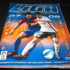 Coleccionismo deportivo: ALBUM CROMOS LA LIGA 2007-2008. 412 CROMOS.. Lote 146573582