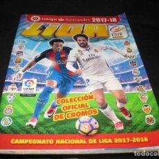 Coleccionismo deportivo: ALBUM CROMOS LA LIGA 2017-2018. 164 CROMOS.. Lote 146574274