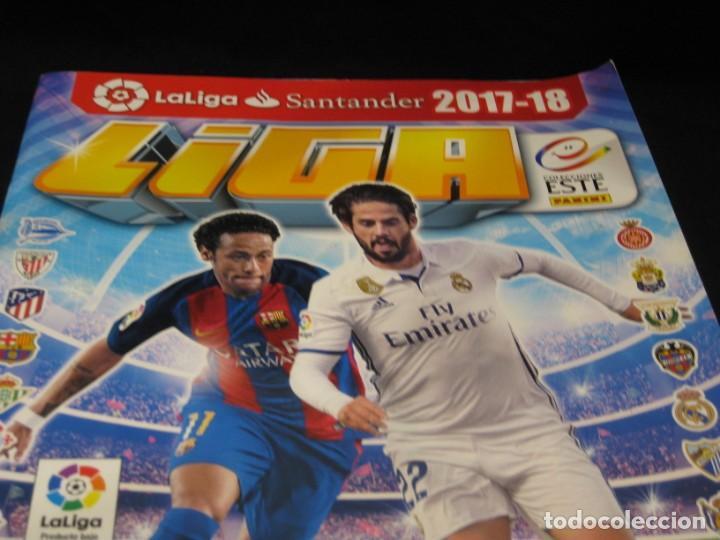Coleccionismo deportivo: Album cromos La Liga 2017-2018. 164 cromos. - Foto 2 - 146574274