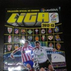 Coleccionismo deportivo: ALBUM DE CROMOS LIGA ESTE 2012 - 2013 12 - 13 CON 134 PEGADOS. Lote 146699966