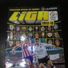 Coleccionismo deportivo: ALBUM DE CROMOS LIGA ESTE 2012 - 2013 12 - 13 CON 26 PEGADOS. Lote 146700154