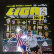Coleccionismo deportivo: ALBUM DE CROMOS LIGA ESTE 2012 - 2013 12 - 13 CON 184 PEGADOS. Lote 146700250