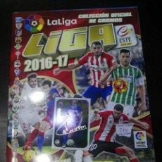 Coleccionismo deportivo: ALBUM DE CROMOS LIGA ESTE 2016 - 2017 16 - 17 CON 214 PEGADOS. Lote 146702142