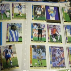 Coleccionismo deportivo: FICHAS LIGA MALAGA. Lote 146744478
