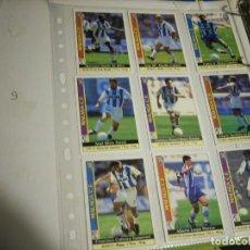 Coleccionismo deportivo: FICHAS LIGA MALAGA. Lote 146744626