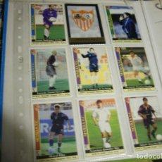 Coleccionismo deportivo: FICHAS LIGA SEVILLA. Lote 146744750