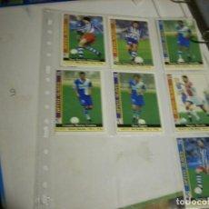 Coleccionismo deportivo: FICHAS LIGA ALAVES. Lote 146745014