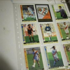 Coleccionismo deportivo: FICHAS LIGA RAYO. Lote 146745230