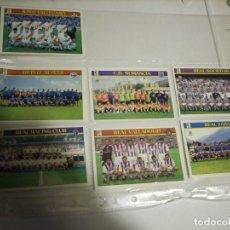 Coleccionismo deportivo: FICHAS LIGA EQUIPO. Lote 146745682