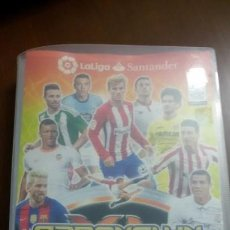 Coleccionismo deportivo: ÁLBUM ADRENALYN XL TRADING CARD GAME LIGA 2016-2017 DE PANINI CON 316 CROMOS. Lote 146771778