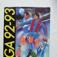 Coleccionismo deportivo: ALBUM ESTE 92-93 (INCLUYE VERSIÓN DE ZAMORANO OTAYSA). Lote 146914766