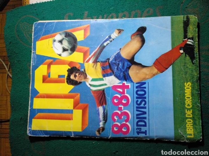 CROMOS 83-84 ESTE (Coleccionismo Deportivo - Álbumes y Cromos de Deportes - Álbumes de Fútbol Incompletos)