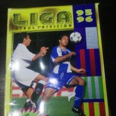 Coleccionismo deportivo: ALBUM DE CROMOS LIGA ESTE 1995 - 1996 95 - 96 CON 170 PEGADOS. Lote 146927874