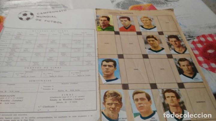 Sammelleidenschaft Sport: ANTIGUO ALBUM DE FUTBOL INCOMPLETO MUNDIAL FUTBOL 1966 - VER FOTOS - Foto 2 - 147125270