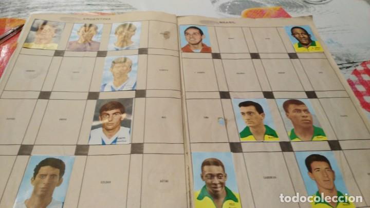 Sammelleidenschaft Sport: ANTIGUO ALBUM DE FUTBOL INCOMPLETO MUNDIAL FUTBOL 1966 - VER FOTOS - Foto 3 - 147125270