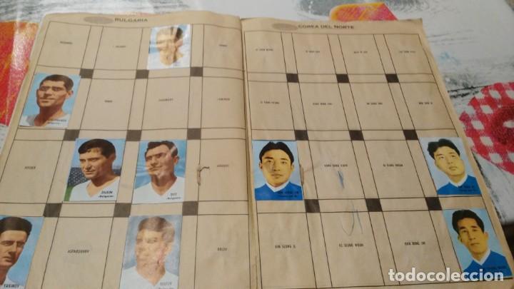Sammelleidenschaft Sport: ANTIGUO ALBUM DE FUTBOL INCOMPLETO MUNDIAL FUTBOL 1966 - VER FOTOS - Foto 4 - 147125270