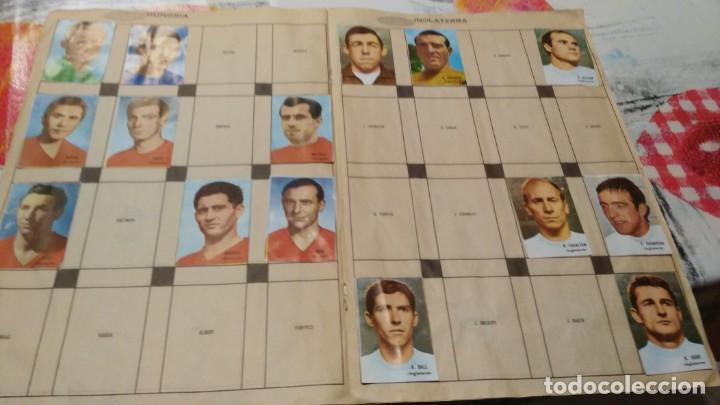 Sammelleidenschaft Sport: ANTIGUO ALBUM DE FUTBOL INCOMPLETO MUNDIAL FUTBOL 1966 - VER FOTOS - Foto 6 - 147125270