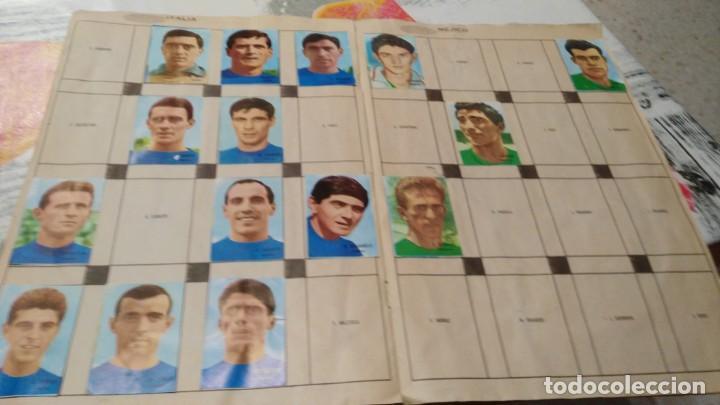 Sammelleidenschaft Sport: ANTIGUO ALBUM DE FUTBOL INCOMPLETO MUNDIAL FUTBOL 1966 - VER FOTOS - Foto 7 - 147125270
