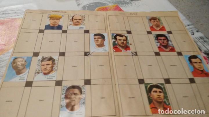 Sammelleidenschaft Sport: ANTIGUO ALBUM DE FUTBOL INCOMPLETO MUNDIAL FUTBOL 1966 - VER FOTOS - Foto 8 - 147125270