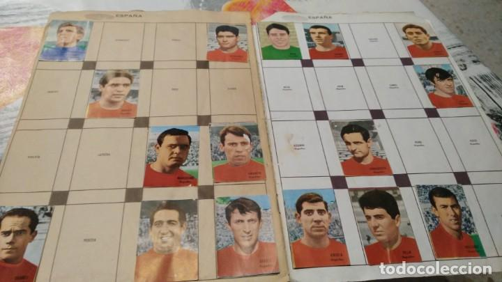 Sammelleidenschaft Sport: ANTIGUO ALBUM DE FUTBOL INCOMPLETO MUNDIAL FUTBOL 1966 - VER FOTOS - Foto 10 - 147125270