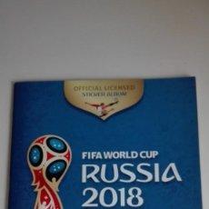 Coleccionismo deportivo: ÁLBUM FIFA WORLD CUP RUSIA 2018. Lote 147289250