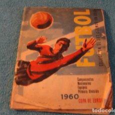 Coleccionismo deportivo: LOTE ALBUM CROMOS FUTBOL COPA EUROPA 1960 ED RUIZ ROMERO 396 CROMOS DE 397....SALIDA 1 EURO. Lote 147343302