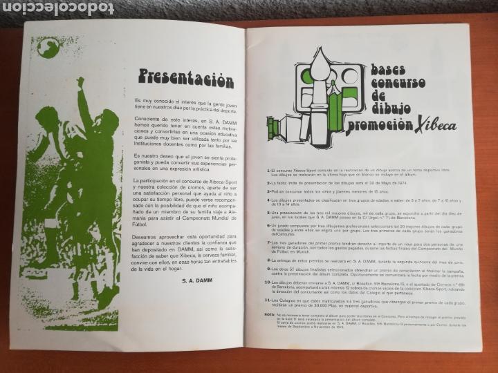 Coleccionismo deportivo: Álbum Xibeca Sport Los equipos de 1era División y 16 Selecciones Mundial Münich Cervezas Damm Cruyff - Foto 12 - 147349516