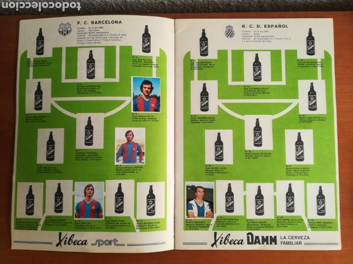 Coleccionismo deportivo: Álbum Xibeca Sport Los equipos de 1era División y 16 Selecciones Mundial Münich Cervezas Damm Cruyff - Foto 13 - 147349516