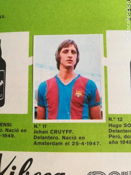 Coleccionismo deportivo: Álbum Xibeca Sport Los equipos de 1era División y 16 Selecciones Mundial Münich Cervezas Damm Cruyff - Foto 14 - 147349516