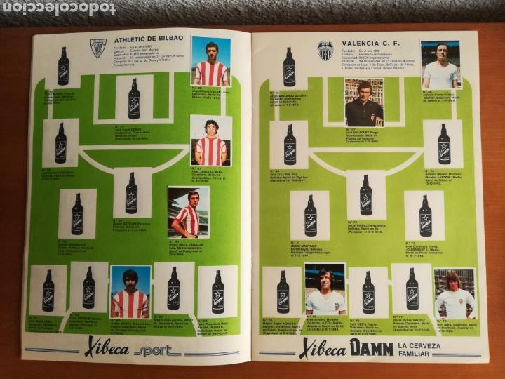 Coleccionismo deportivo: Álbum Xibeca Sport Los equipos de 1era División y 16 Selecciones Mundial Münich Cervezas Damm Cruyff - Foto 16 - 147349516
