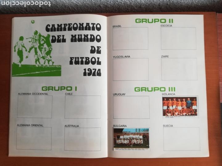 Coleccionismo deportivo: Álbum Xibeca Sport Los equipos de 1era División y 16 Selecciones Mundial Münich Cervezas Damm Cruyff - Foto 23 - 147349516