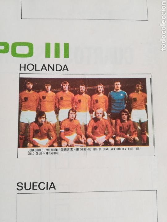 Coleccionismo deportivo: Álbum Xibeca Sport Los equipos de 1era División y 16 Selecciones Mundial Münich Cervezas Damm Cruyff - Foto 24 - 147349516