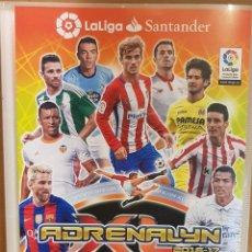 Coleccionismo deportivo: ADRENALYN 2016-2017 / ÁLBUM VACIO / TRADING CARD GAME / PANINI / SIN FICHAS.. Lote 147487618