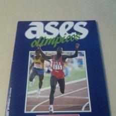 Coleccionismo deportivo: ALBUM ASES OLIMPICOS DEL DIARIO AS. Lote 147674054