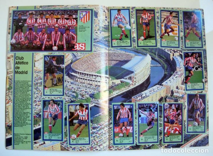 Coleccionismo deportivo: Álbum de fútbol LOS ASES DE LA LIGA 1989 1990 - 89 90 - Diario AS - Foto 3 - 147701134
