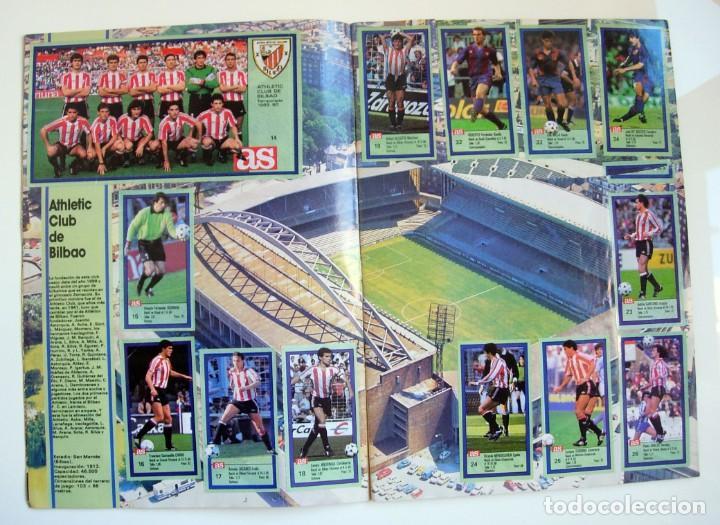 Coleccionismo deportivo: Álbum de fútbol LOS ASES DE LA LIGA 1989 1990 - 89 90 - Diario AS - Foto 4 - 147701134