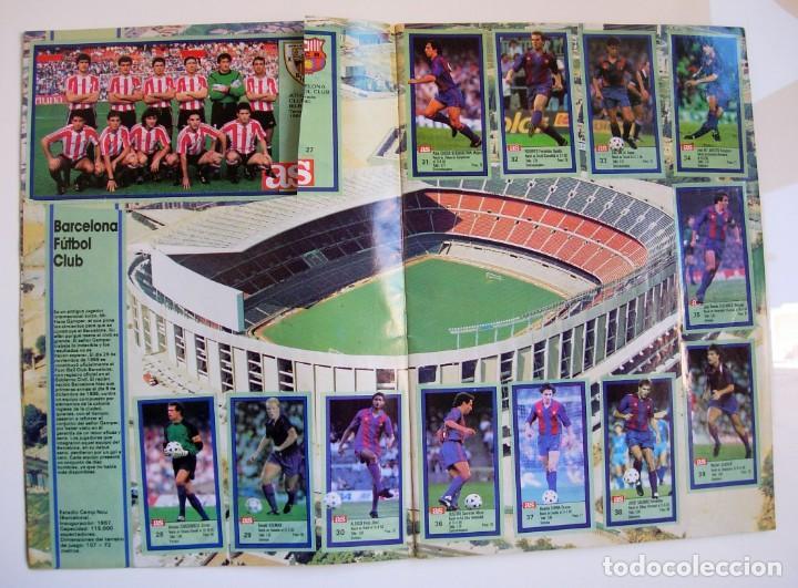 Coleccionismo deportivo: Álbum de fútbol LOS ASES DE LA LIGA 1989 1990 - 89 90 - Diario AS - Foto 5 - 147701134