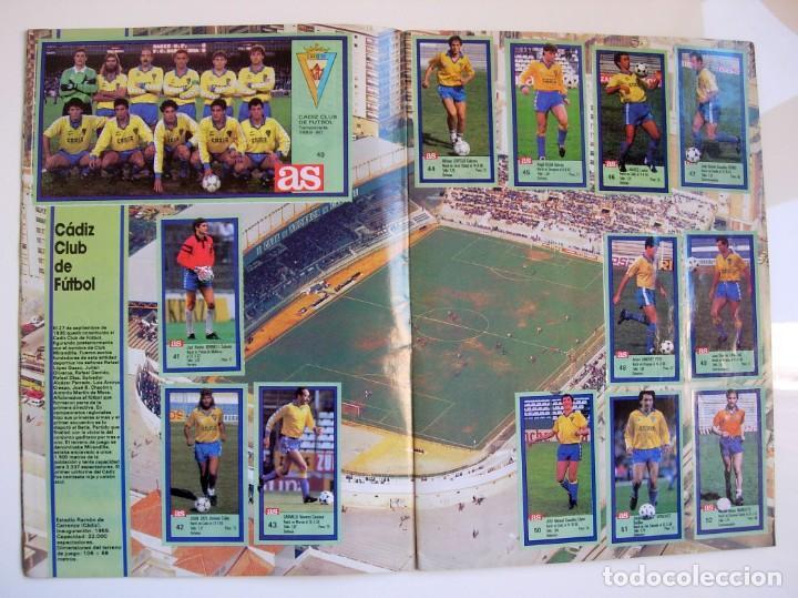 Coleccionismo deportivo: Álbum de fútbol LOS ASES DE LA LIGA 1989 1990 - 89 90 - Diario AS - Foto 6 - 147701134