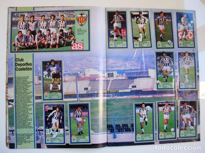 Coleccionismo deportivo: Álbum de fútbol LOS ASES DE LA LIGA 1989 1990 - 89 90 - Diario AS - Foto 7 - 147701134