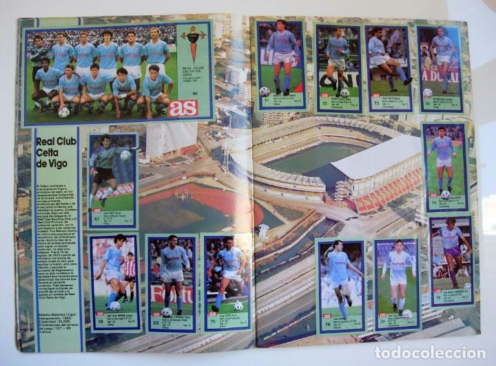 Coleccionismo deportivo: Álbum de fútbol LOS ASES DE LA LIGA 1989 1990 - 89 90 - Diario AS - Foto 8 - 147701134