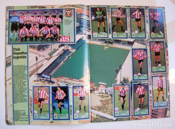 Coleccionismo deportivo: Álbum de fútbol LOS ASES DE LA LIGA 1989 1990 - 89 90 - Diario AS - Foto 9 - 147701134
